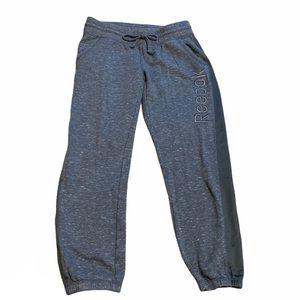 Reebok Heathered Gray Sweatpants